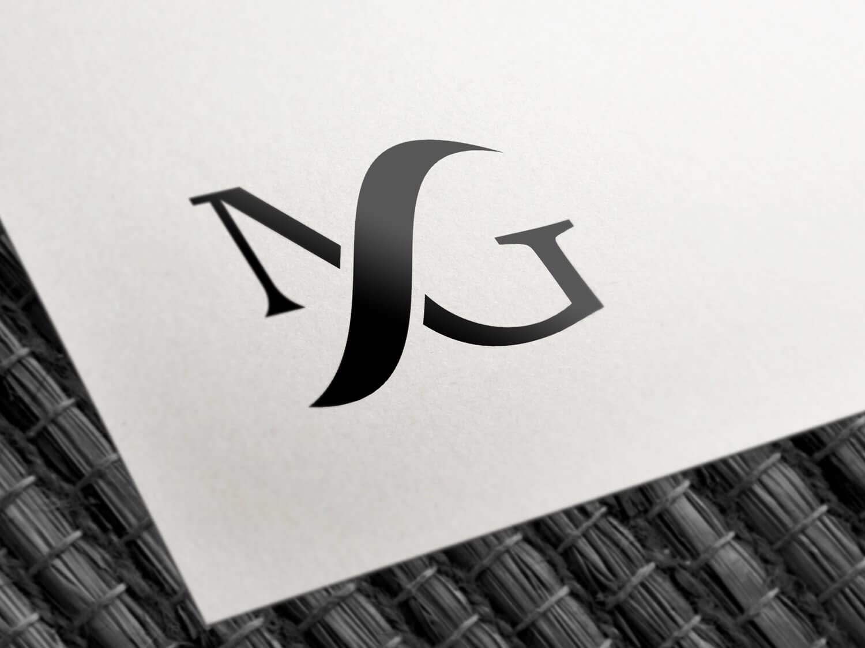 MFG Monogram logo design