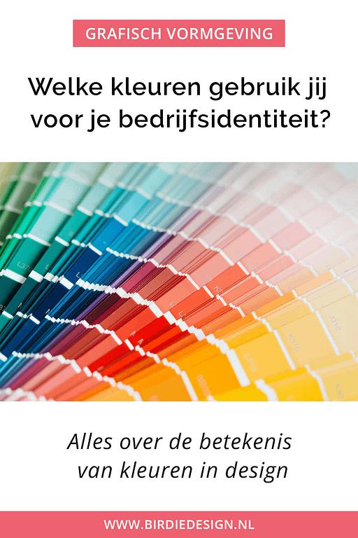 Welke kleuren gebruik jij voor je bedrijfsidentiteit? Alles over de betekenis van kleuren in design
