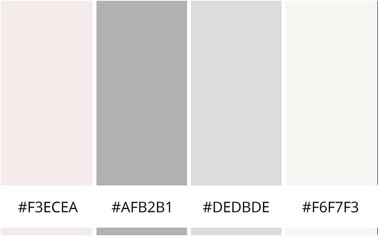 Vrouwelijk - 10 minimalistische kleurenschema's voor je website