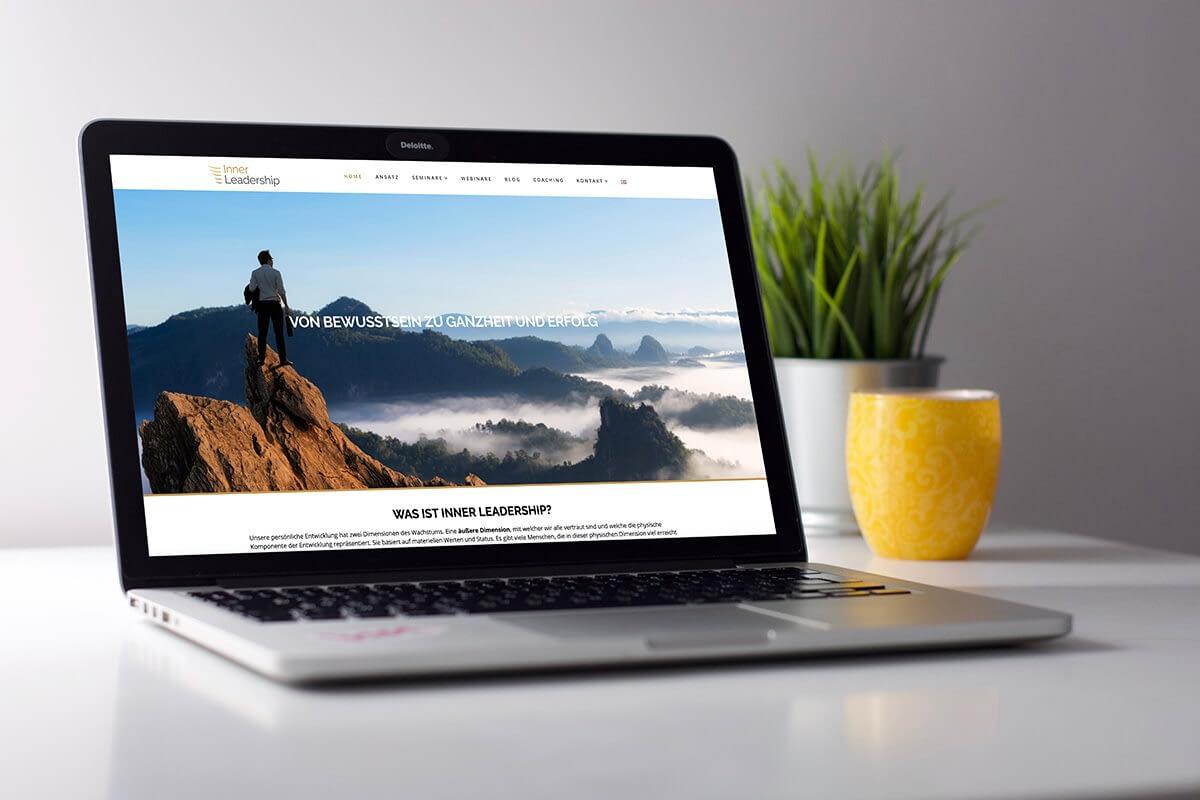 leadership coaching website ontwerp en realisatie