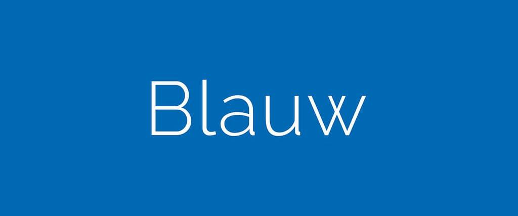 Kleurenpsychologie: de betekenis van blauw