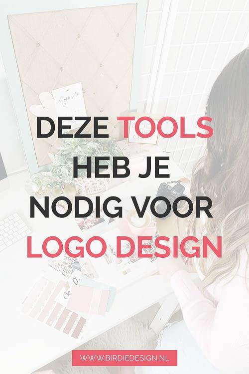 Deze tools heb je nodig voor logo design pinterest afbeelding