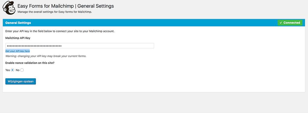 Zo zet je een emailcampagne op met MailChimp Easy Forms WordPress