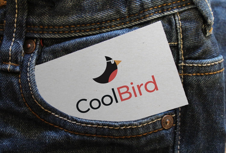 CoolBird - modern, clean, kleurrijk logo ontwerp