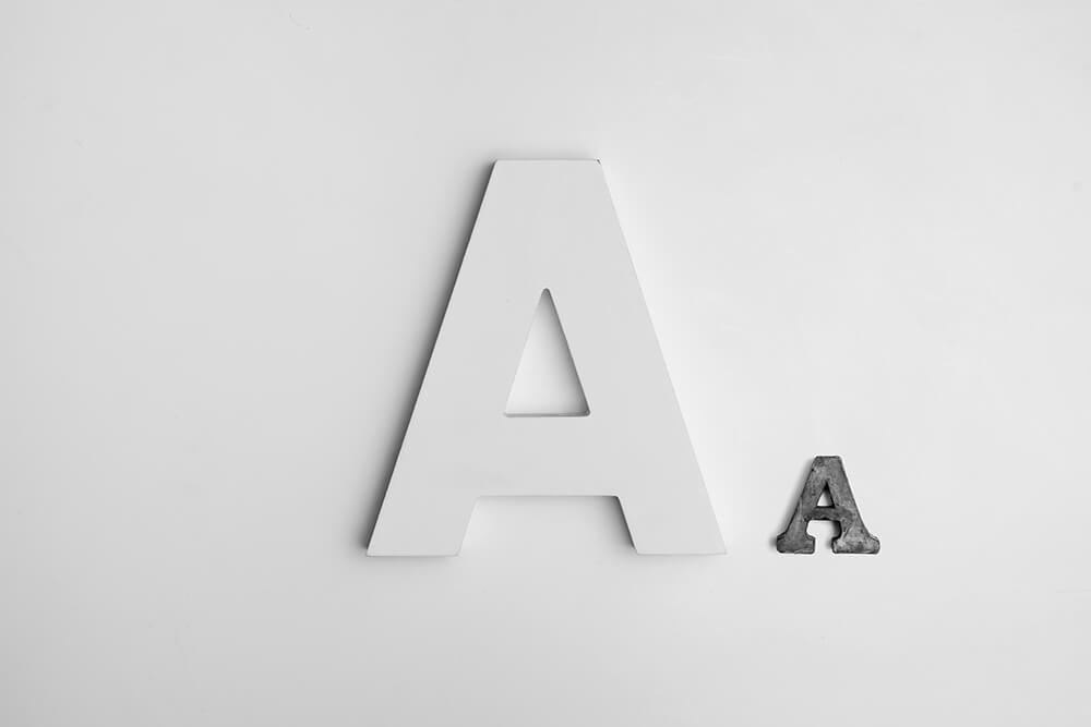 Lettertypes voor een minimalistisch logo ontwerp