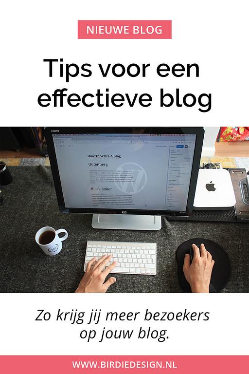 tips voor een effectieve blog - krijg meer verkeer voor jouw blog