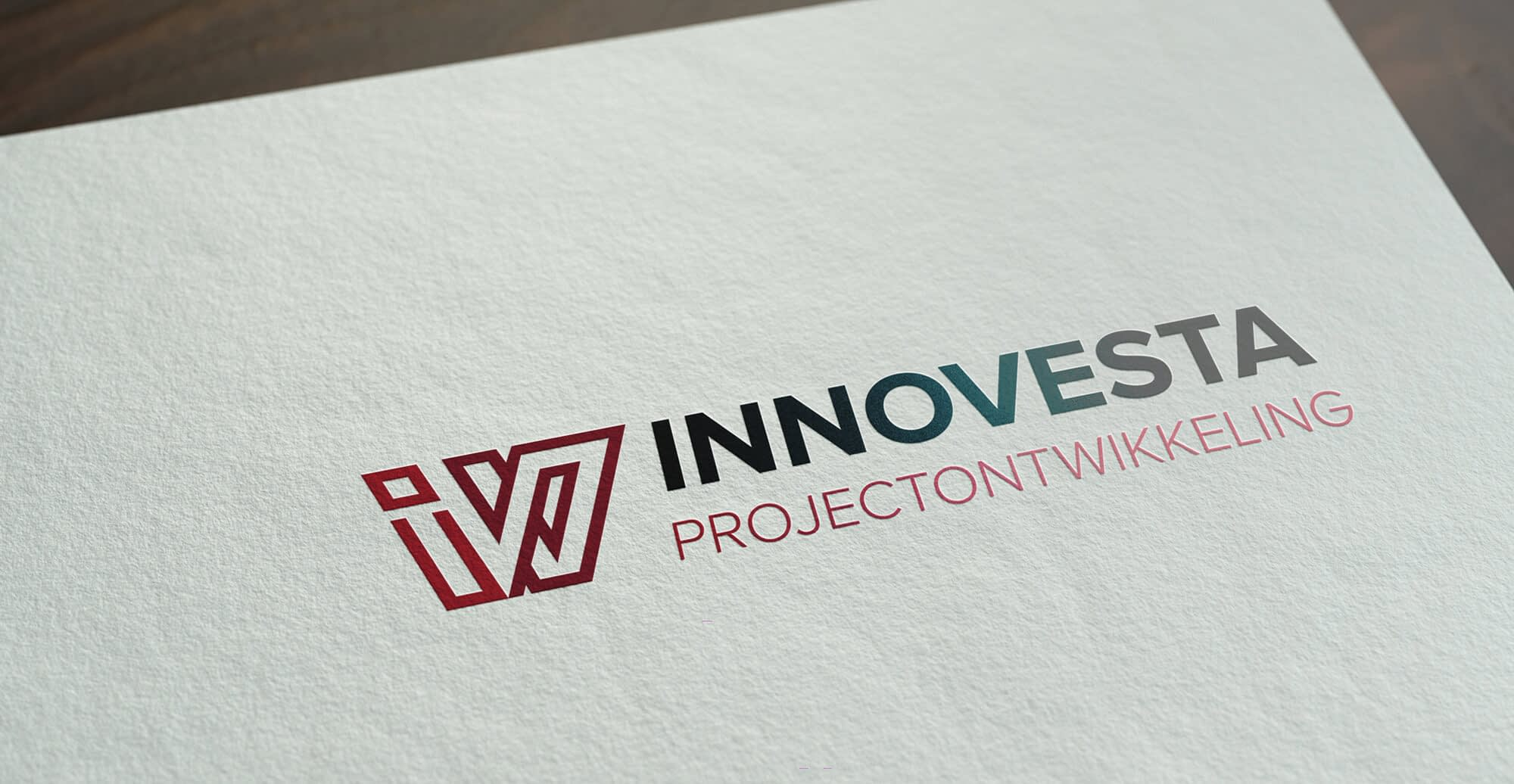 InnoVesta clean modern logo design
