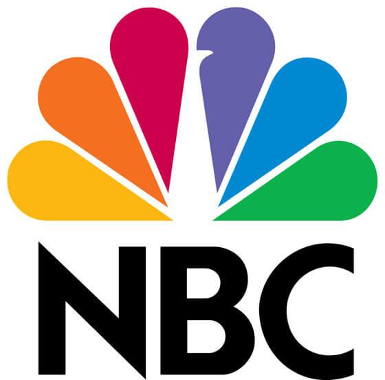 NBC logo negatieve ruimte