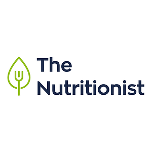 dietist modern logo ontwerp - vork in blaadje