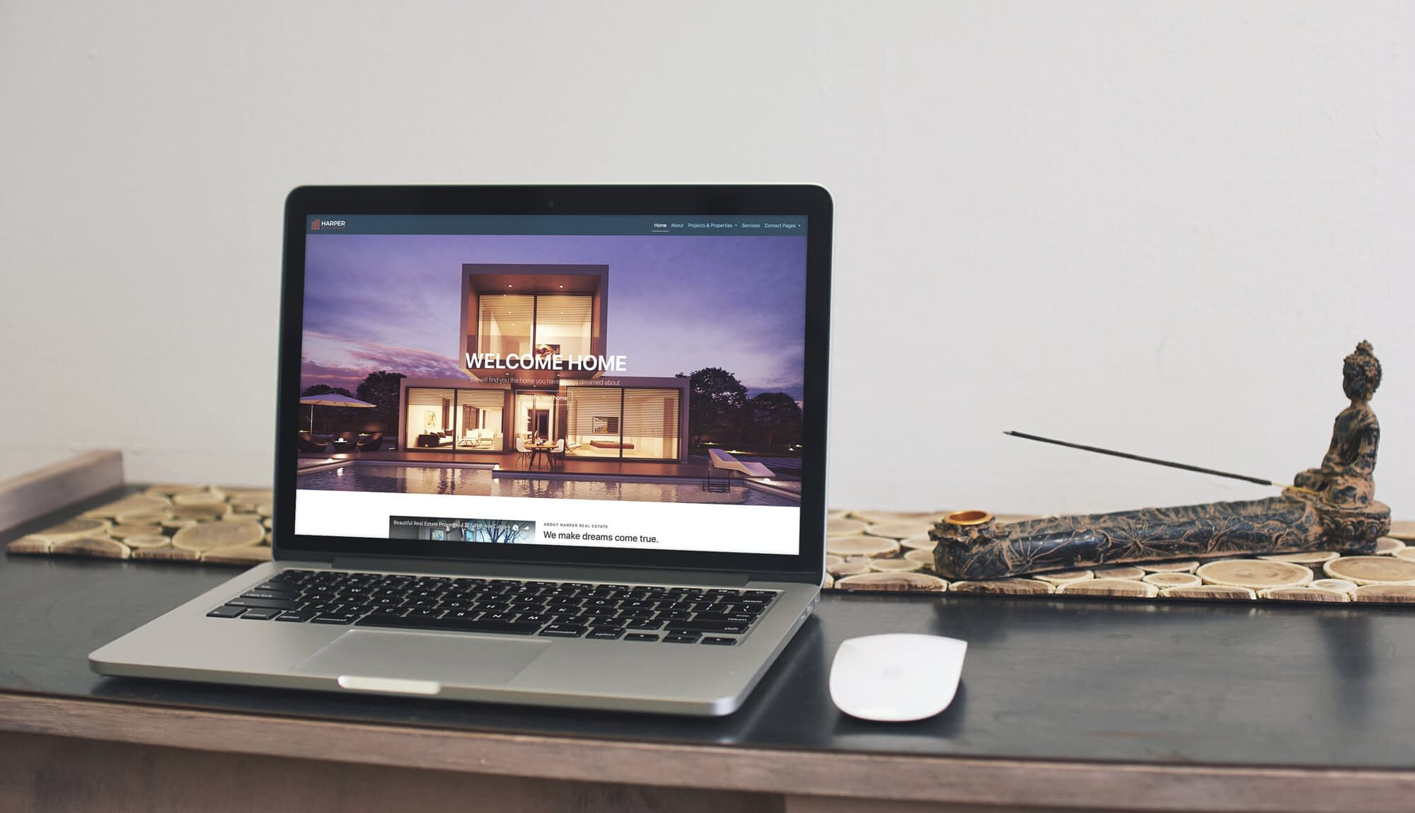 Website design voor een makelaar