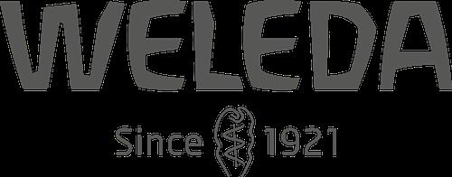 weleda logo met datum
