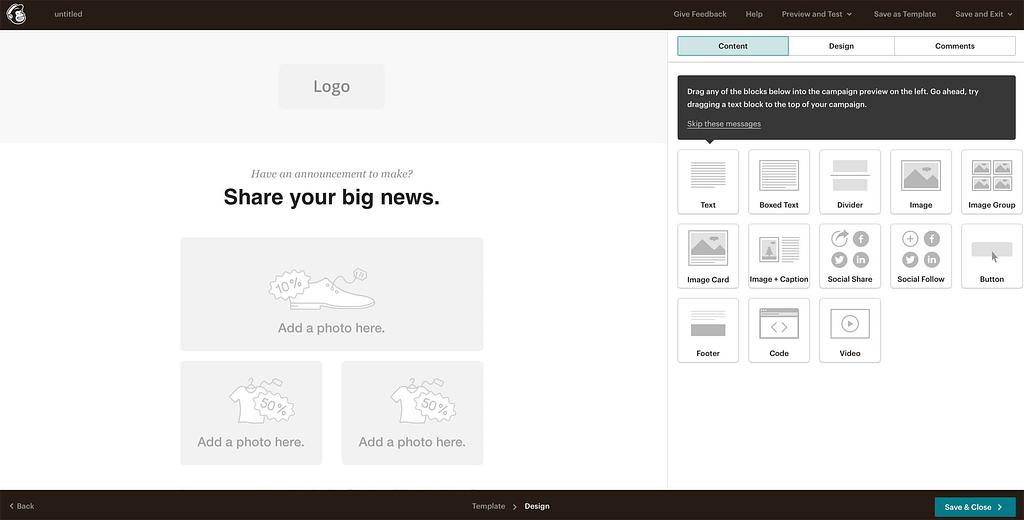 email ontwerpen - zo zet je een e-mailcampagne op met MailChimp