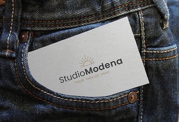 Modern logo ontwerp - branding kit