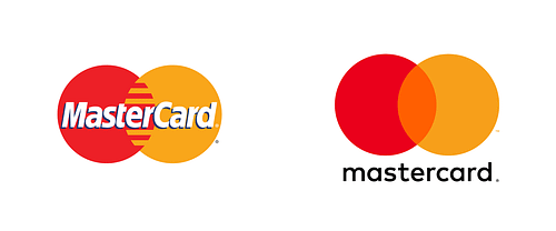 mastercard logo evolutie