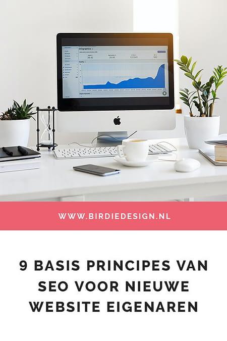 9 basis principes van SEO voor nieuwe website eigenaren