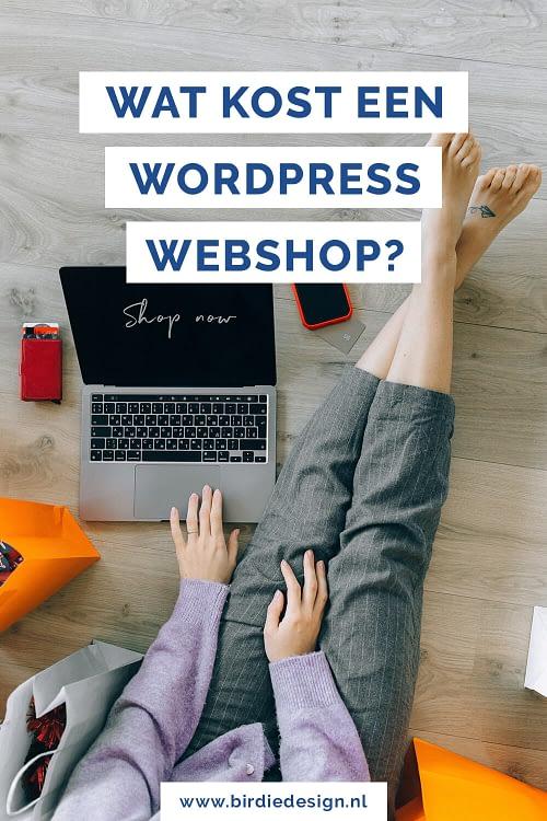 Wat zijn de kosten van een WordPress webshop