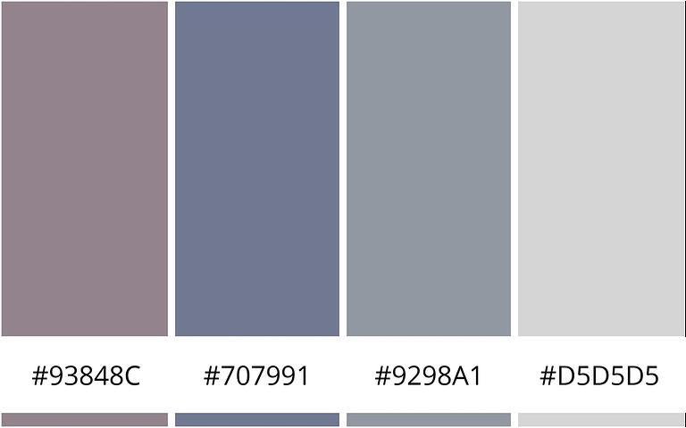 Stijlvol - 10 minimalistische kleurenschemas voor je website