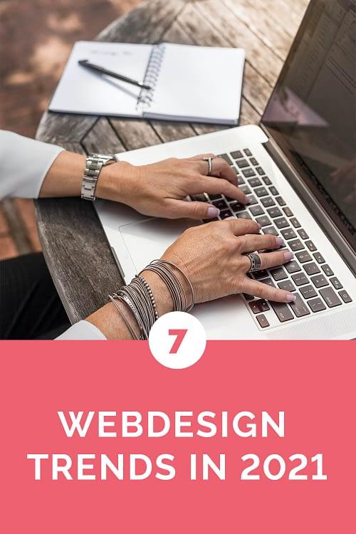 webdesign 2021 pinterest afbeelding