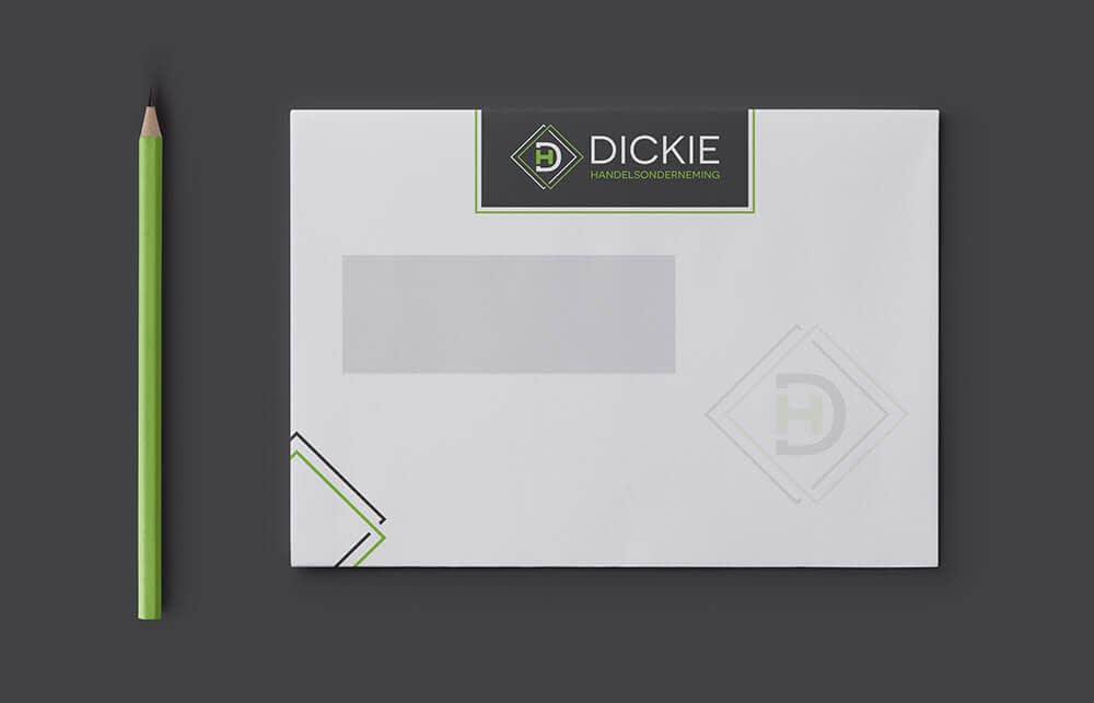 Dickie - Envelop grafisch ontwerp