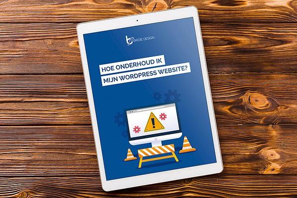 Wordpress onderhoud ebook