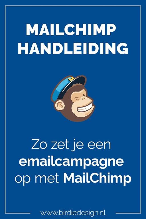 MailChimp Handleiding Pinterest Afbeelding