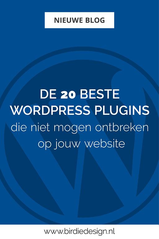 De beste WordPress plugins Pinterest afbeelding