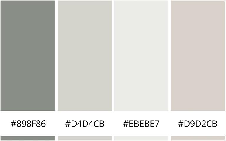 Natuur en bos kleureninspiratie - 10 minimalistische kleurenschemas voor je website
