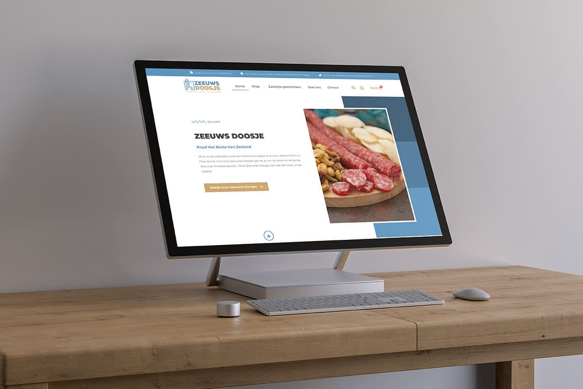 Wordpress webshop met stoere en robuuste look