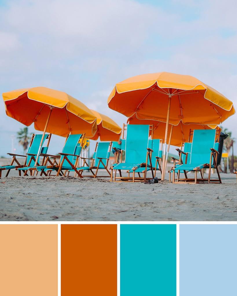 kleureninspiratie: parasollen