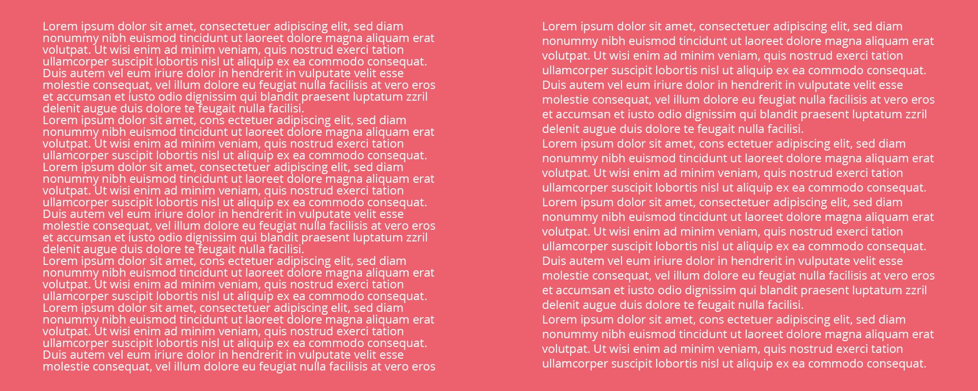 voorkom deze typografie fouten - ruimte tussen regels