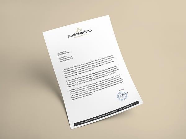 branding kit - briefpapier