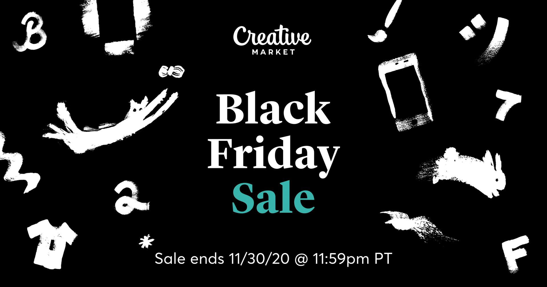 creative market black friday korting