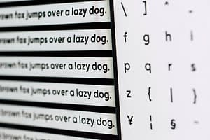 Hoe kies je een font voor je logo