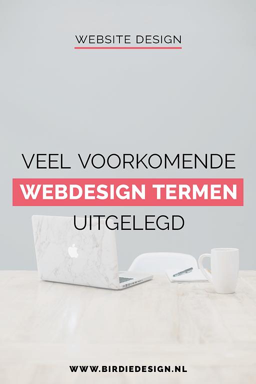Veel voorkomende webdesign termen uitgelegd pinterest afbeelding