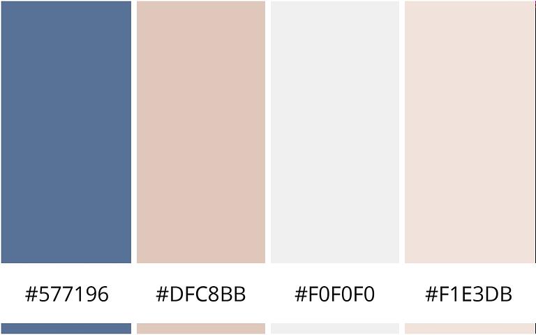 zeezicht - kleureninspiratie voor je website